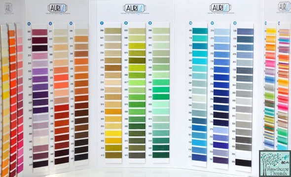 thread card - Aurifil Thread Color Chart